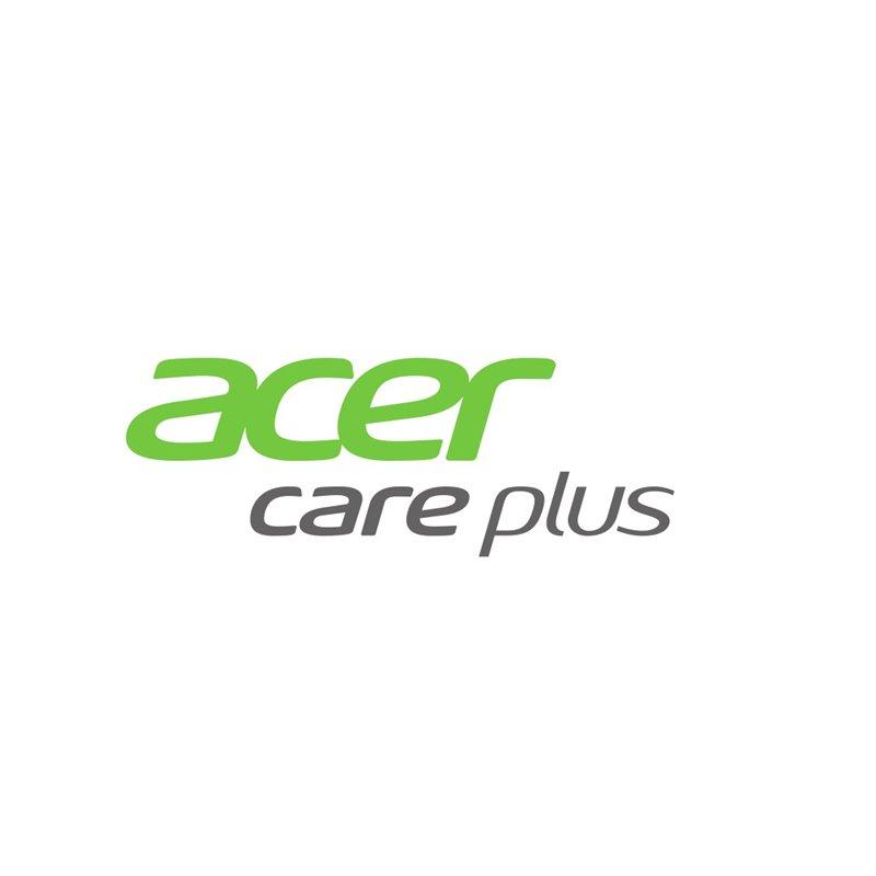 ACER prodloužení záruky na 4 roky CARRY IN, monitory (kromě herních a profesionálních), elektronicky