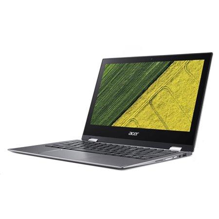 """ACER NTB Spin 1 (SP111-32N-P6V8) - Pentium N4200@1.1GHz,11.6""""Multi-touch FHD IPS,4GB,64GBeMMC,intel HD,čt.pk,W10H,stříb"""