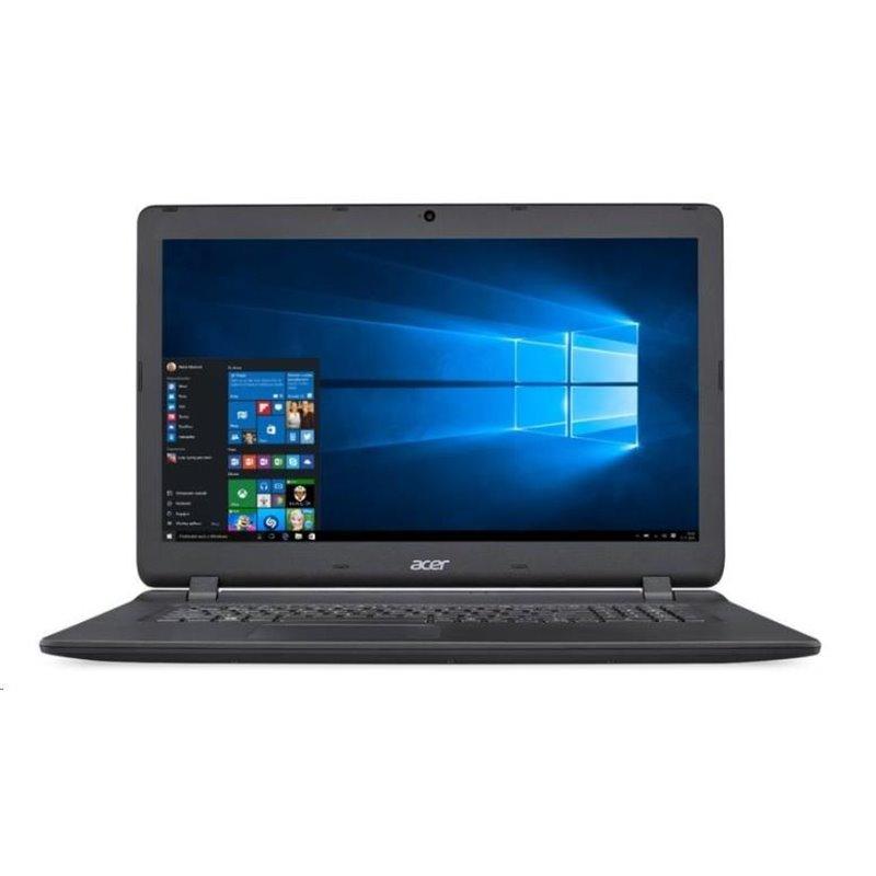 "ACER NTB Aspire ES 17 (ES1-732-P378) - Pentium-N4200,17.3""HD,4GB,256SSD,HDgraphics,DVD,cam,čt.karet,W10H,black"