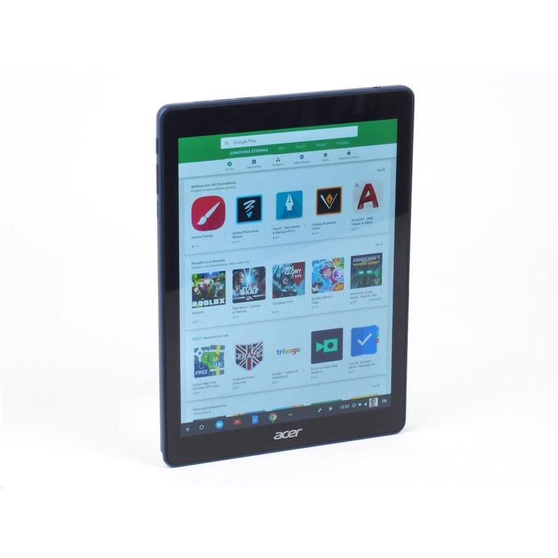 """ACER Chrome Tab 10 (D651N-K9KA) ,4GB, eMMC, SD card reader, 9.7"""" multi-touch, usb type-c, BT,WIFI,Chrome OS"""