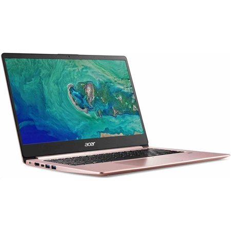 "ACER NTB Swift 1 (SF114-32-P80E) - pentium N5000@1.1GHz, 14"" IPS FHD,4GB,64eMMC,HD graphics,čt.pk.,W10H,pink"