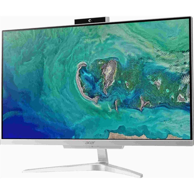 """ACER PC AiO Aspire Aspire C22-865 - i3-8130U@2.2GHz, 21,5"""" FHD, 4GB, 256SSD,ext. DVD, Intel HD 620, repro.,kl+mys,W10H"""
