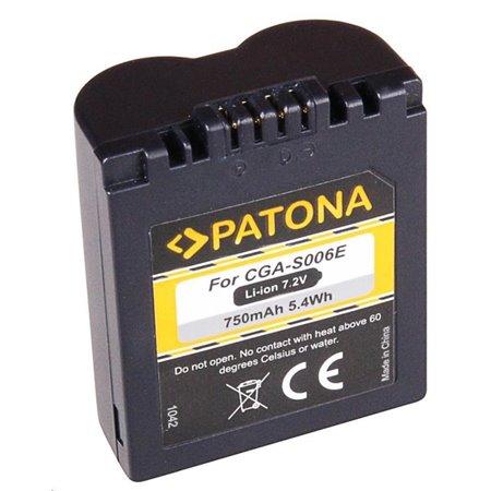 Patona fotobaterie pro Panasonic CGA-S006E 750mAh