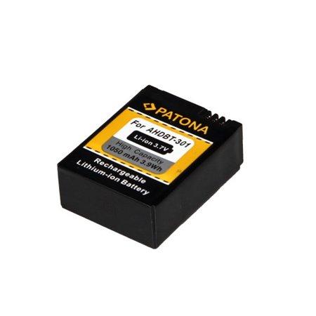 Patona fotobaterie GoPro HD Hero 3 1050mAh 3,7V Li-Ion