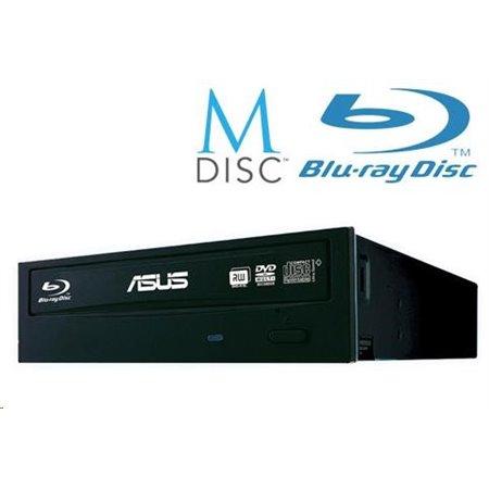 ASUS BLU-RAY Writer BW-16D1HT/BLK/B, black, SATA, bulk (bez SW)