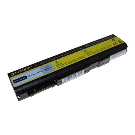 Baterie Patona pro TOSHIBA PA3788 4400mAh Li-Ion 10,8V