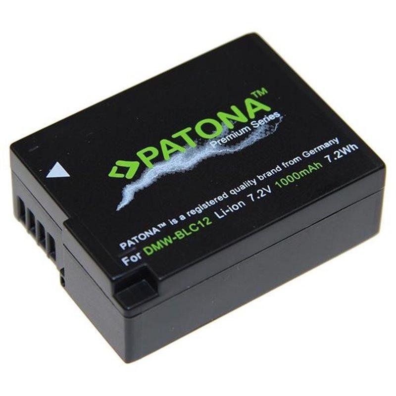 Fotobaterie Patona pro Panasonic DMW-BLC12 E 1000mAh Li-Ion Premium