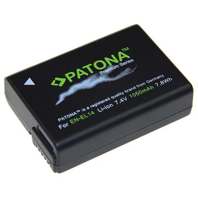 Fotobaterie Patona pro Nikon EN-EL14 1050mAh Li-Ion Premium