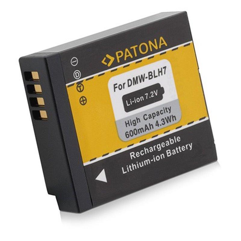 Fotobaterie Patona pro Panasonic DMW-BLH7E 600mAh Li-Ion