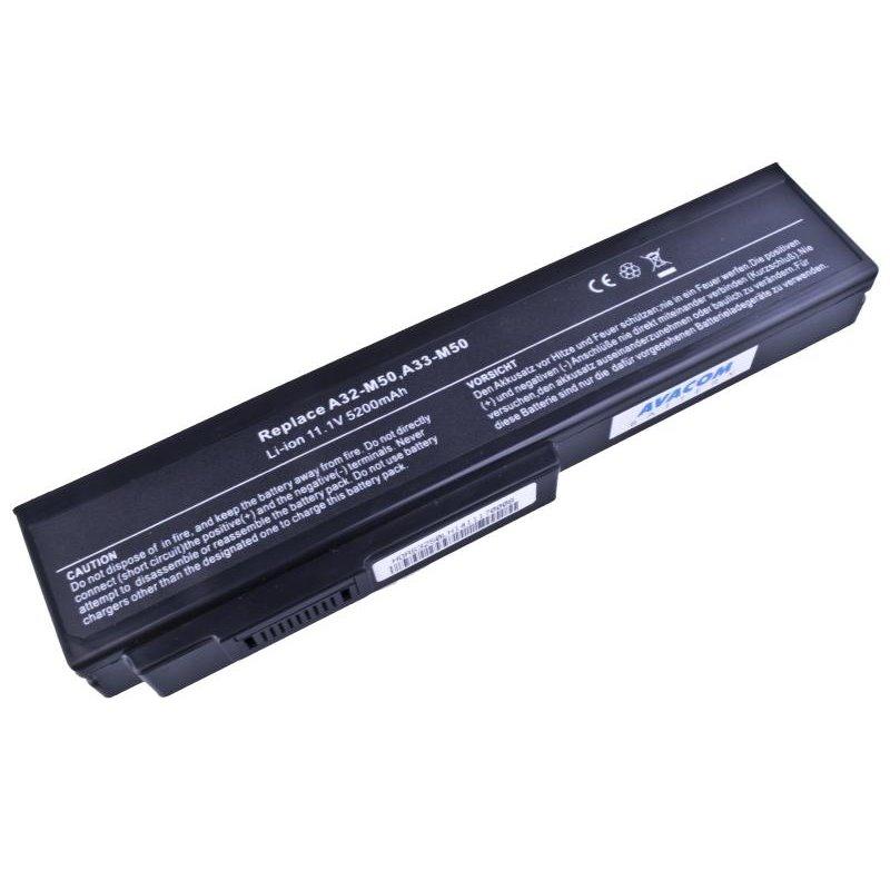 AVACOM baterie pro Asus M50, G50, N61, Pro64 Series Li-Ion 11,1V 5200mAh/58Wh black