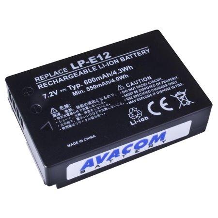 AVACOM Canon LP-E12 Li-Ion 7.4V 600mAh 4.3Wh