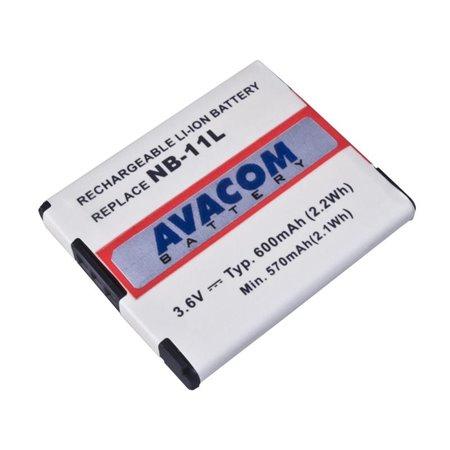 AVACOM Canon NB-11L, NB-11LH Li-Ion 3.7V 600mAh 2.2Wh
