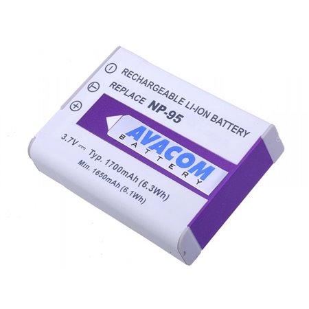 AVACOM Fujifilm NP-95, Ricoh DB-90 Li-Ion 3.7V 1700mAh 6.3Wh
