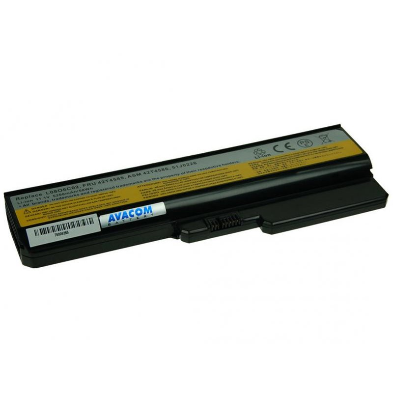 AVACOM baterie pro Lenovo G550, IdeaPad V460 series Li-Ion 11,1V 5200mAh/58Wh