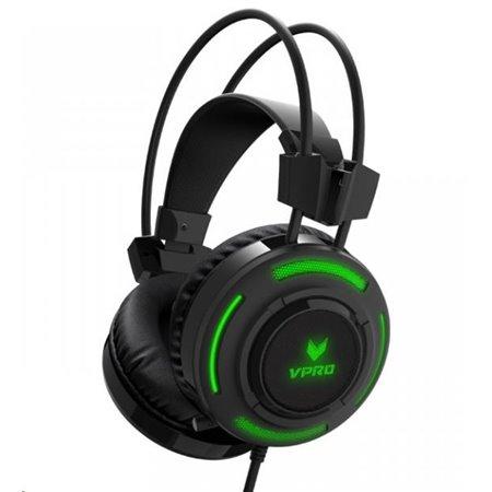 Rapoo VH200 Black RGB Glow Gaming Headphones