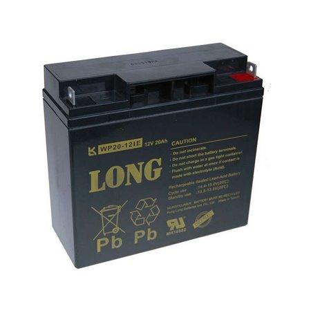 Long 12V 20Ah olověný akumulátor DeepCycle AGM F3