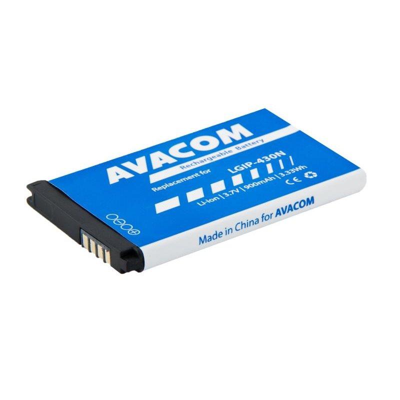 AVACOM baterie do mobilu LG GM360 Li-Ion 3,7V 900mAh, (náhrada LGIP-430N)