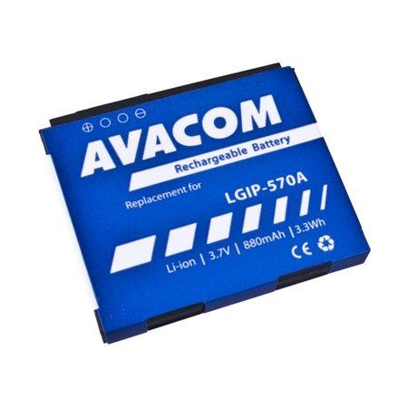 AVACOM baterie do mobilu LG KP500 Li-Ion 3,7V 880mAh (náhrada LGIP-570A)