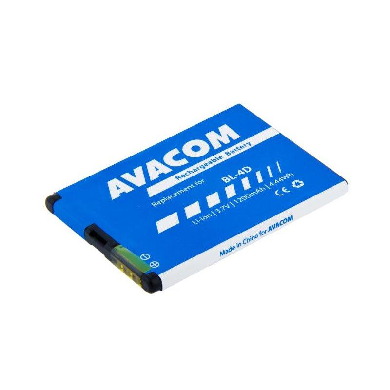 AVACOM baterie do mobilu Nokia E7, N8 Li-Ion 3,7V 1200mAh (náhrada BL-4D)
