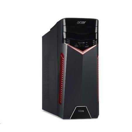ACER PC Nitro GX50-600 - i5-8400@2.8GHz, 8GB,1THDD72,Intel Optane,DVD-RW,nvd gtx 1060-6G,čt.pk,kb+mys,W10H