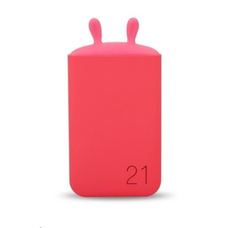 ROMOSS Lovely elf LE06 Red Power Bank Capacity:6000mAh (Cell: Li-polymer ), Input: DC5V 2.1A, Outp