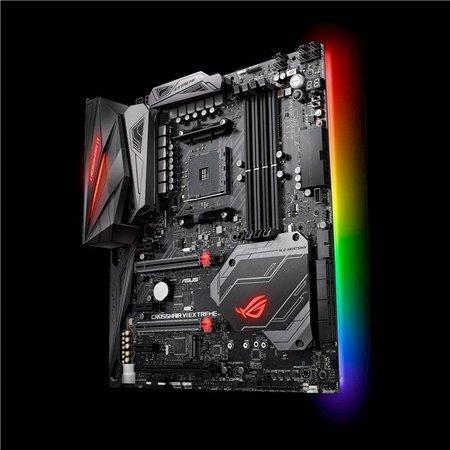 ASUS MB Sc AM4 ROG CROSSHAIR VI EXTREME, AMD X370, 4xDDR4, Wi-Fi, E-ATX