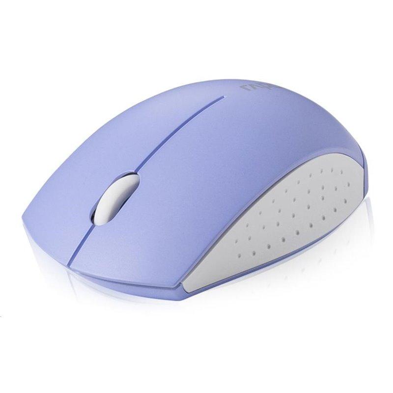 RAPOO myš M3360 Mini, optická, bezdrátová, 2.4G, nachová