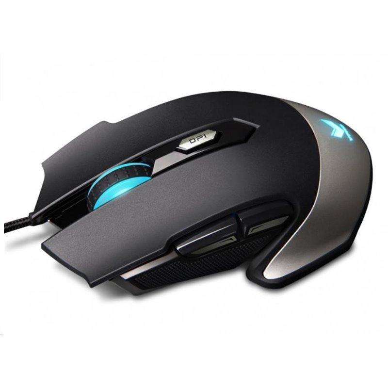 RAPOO myš V310, optická, bezdrátová, gaming, černá