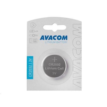 AVACOM Nenabíjecí knoflíková baterie CR2032 AVACOM Lithium 1ks Blistr