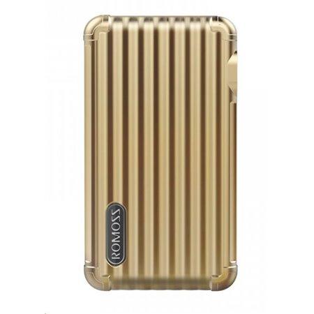 ROMOSS UP10 Gold EU Plug Power Bank Capacity:10000mAh (Cell: Li-polymer)