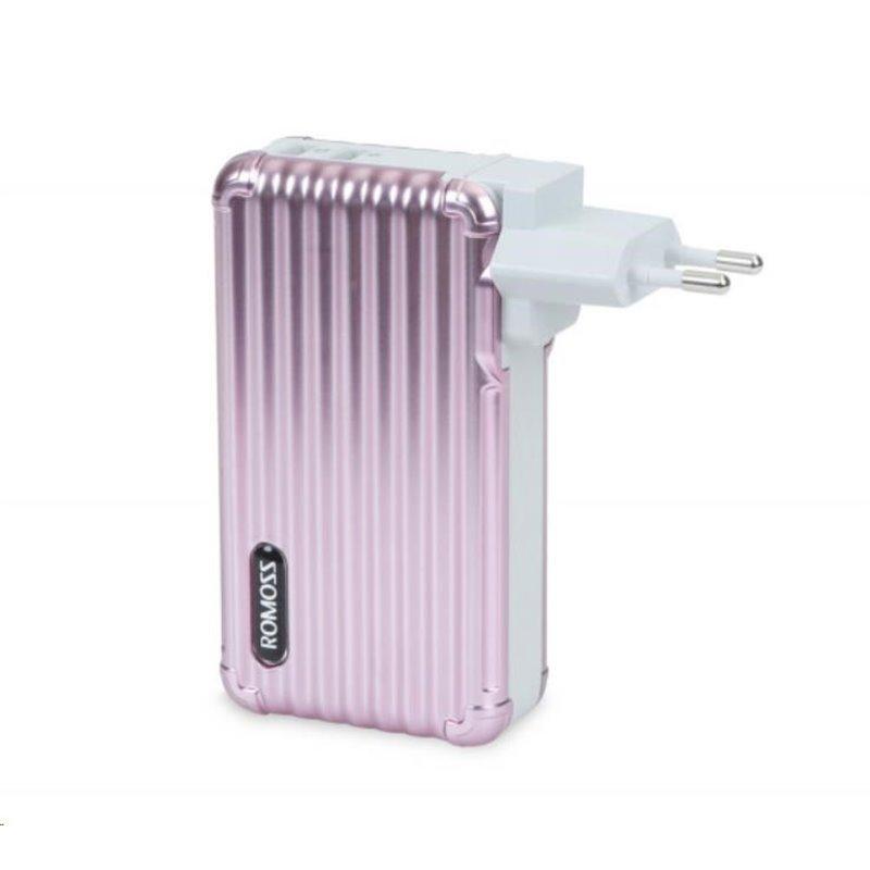 ROMOSS UP10 Rose Gold EU Plug Power Bank Capacity:10000mAh (Cell: Li-polymer)