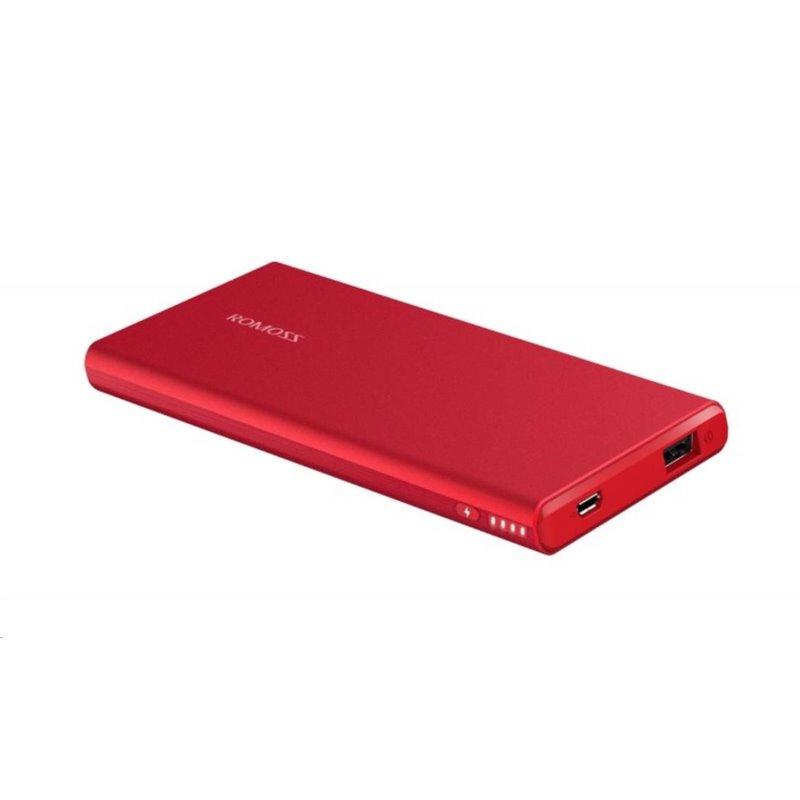 ROMOSS GT 3 Ferrari Red Power Bank Capacity:5000mAh (Cell: Li-polymer), Input: DC5V 2.1A