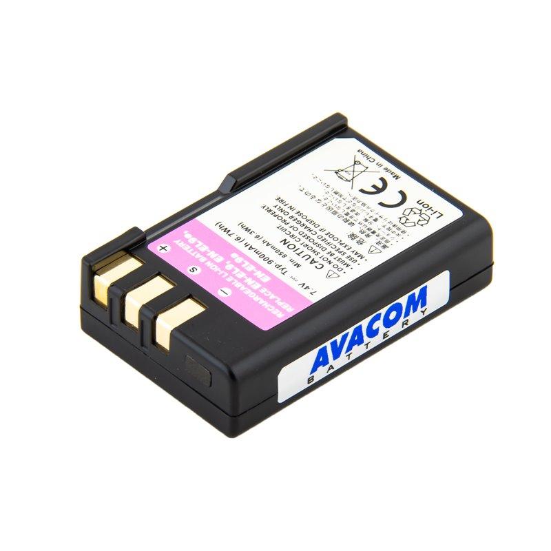 AVACOM fotobaterie pro Nikon EN-EL9, EN-EL9A, EN-EL9E Li-Ion 7.4V 900mAh 6.7Wh
