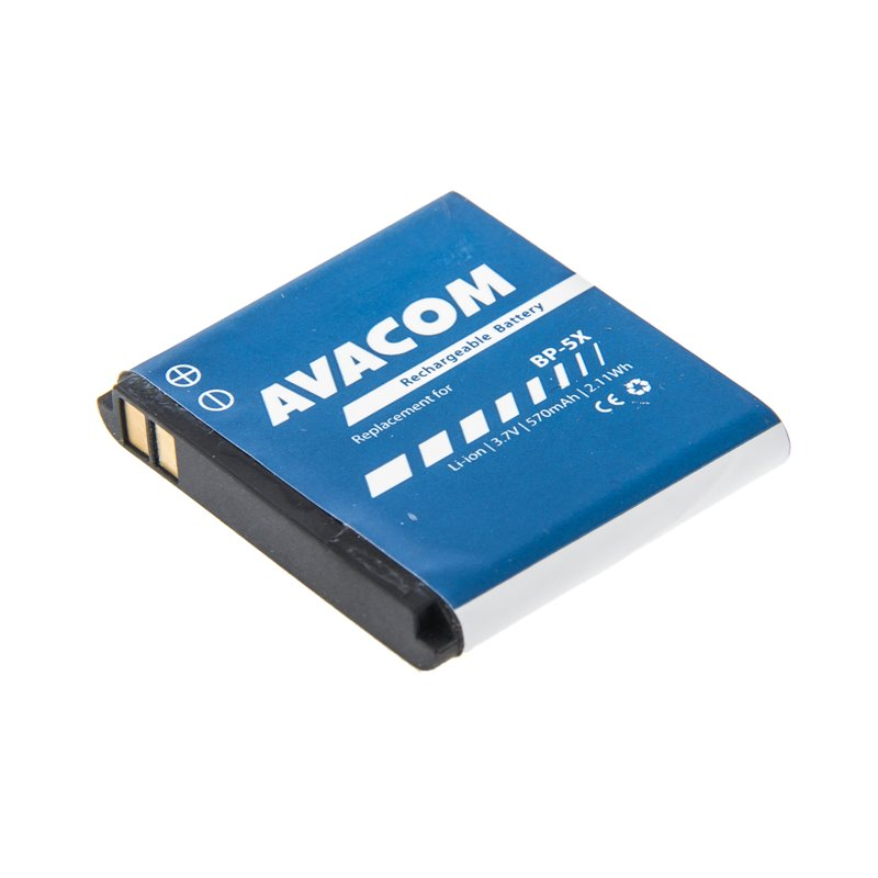 AVACOM baterie do mobilu pro Nokia 8800 Li-Ion 3,7V 570mAh (náhrada BL-5X)