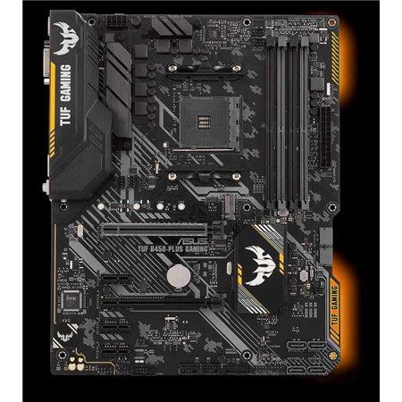 ASUS MB Sc AM4 TUF B450-PLUS GAMING, AMD B450, 4xDDR4, VGA