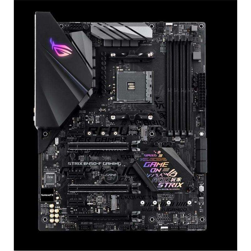 ASUS MB Sc AM4 ROG STRIX B450-F GAMING, AMD B450, 4xDDR4, VGA