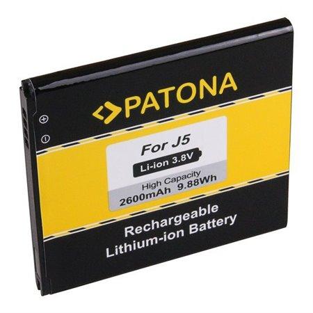 PATONA baterie pro mobilní telefon Samsung Galaxy J5 (2015) 2600mAh 3,8V Li-Pol