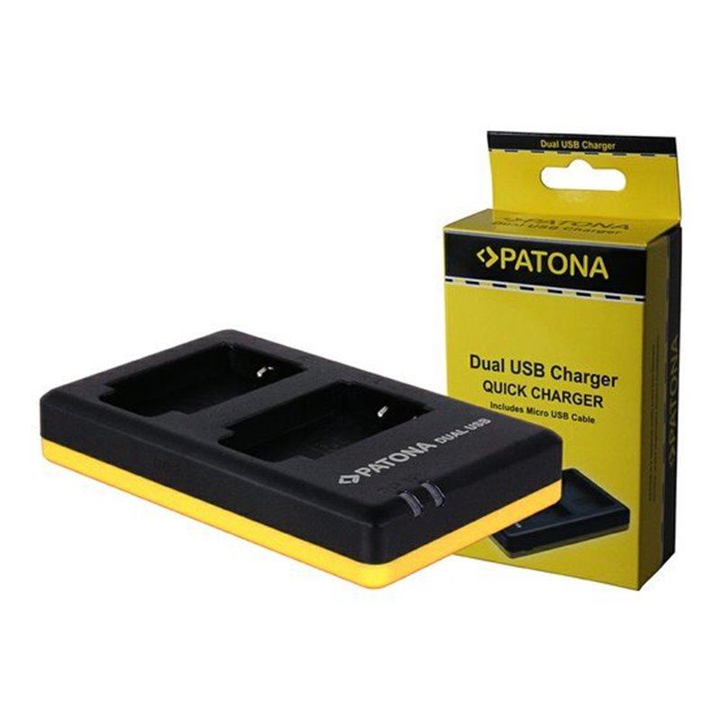 PATONA nabíječka Foto Dual Quick Canon LP-E6 USB