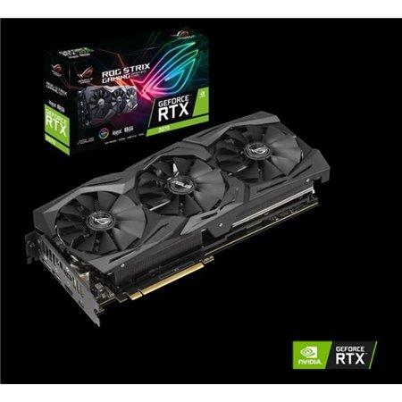 ASUS VGA NVIDIA ROG-STRIX-RTX2070-A8G-GAMING, RTX 2070, 8GB GDDR6