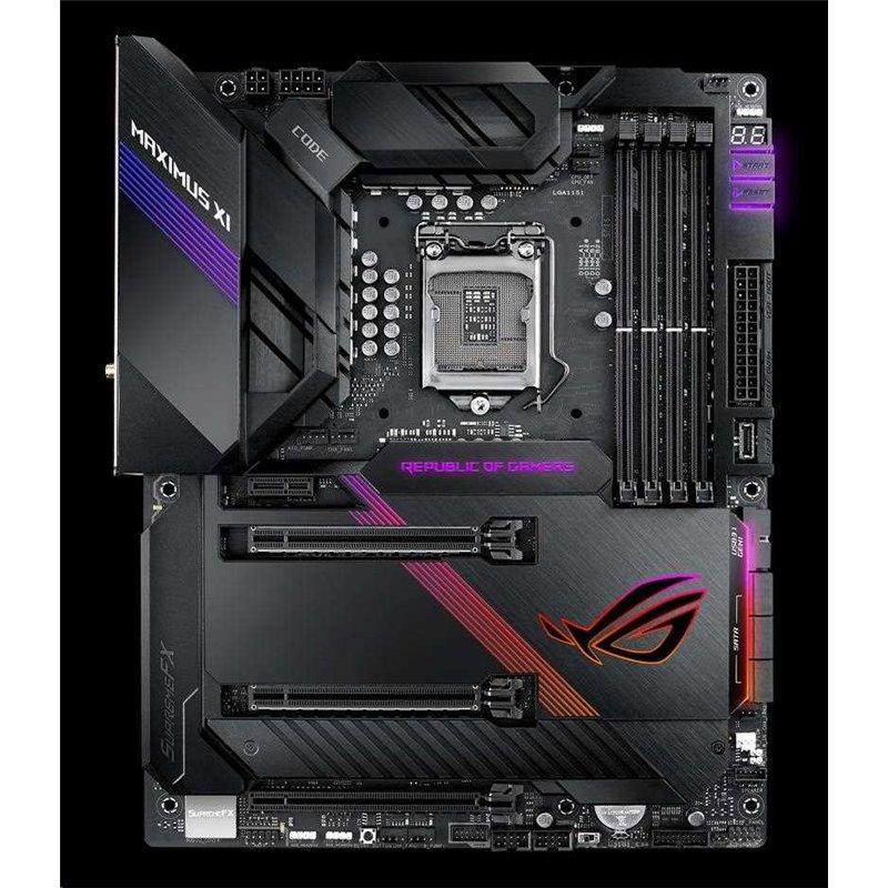 ASUS MB Sc LGA1151 ROG MAXIMUS XI CODE, Intel Z390, 4xDDR4, VGA, WI-FI