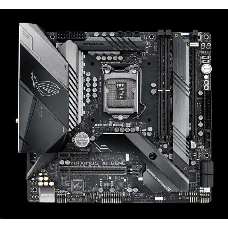 ASUS MB Sc LGA1151 ROG MAXIMUS XI GENE, Intel Z390, 2xDDR4, VGA, mATX, Wi-Fi