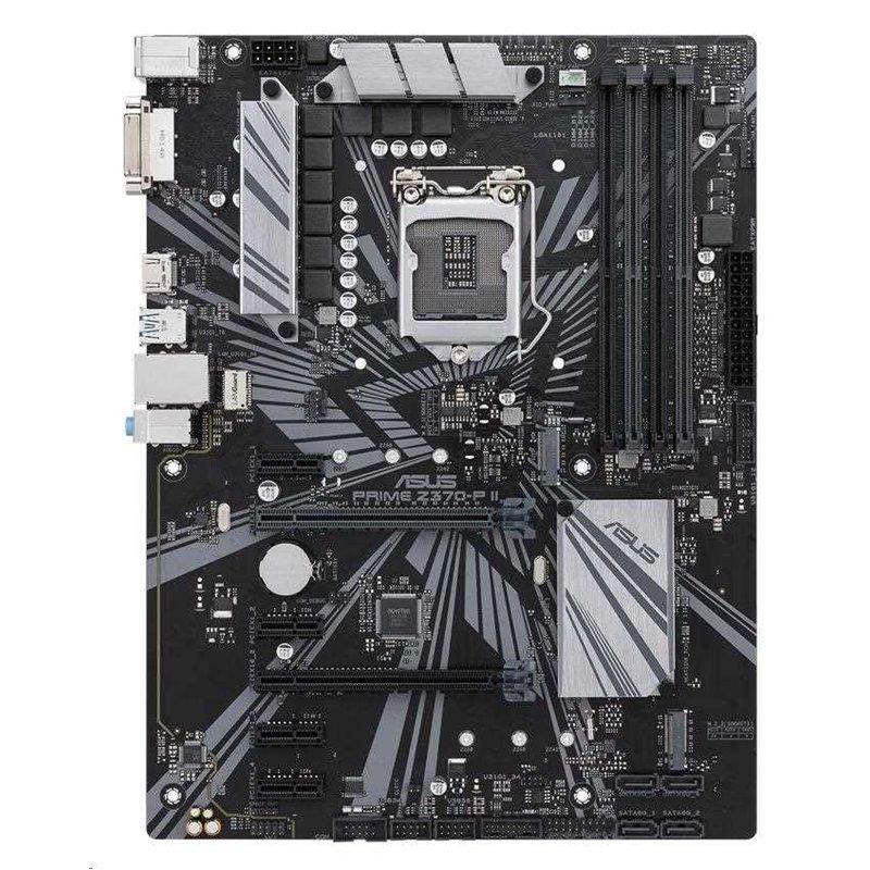 ASUS MB Sc LGA1151 PRIME Z370-P II, Intel Z370, 4xDDR4, VGA