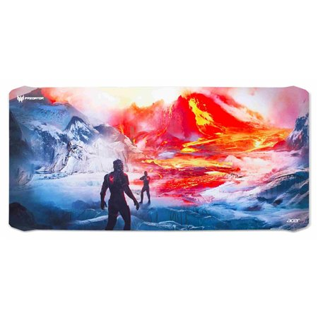 ACER PREDATOR MOUSE PAD, XXL SIZE, WITH MAGMA BATTLE, RETAIL PACK