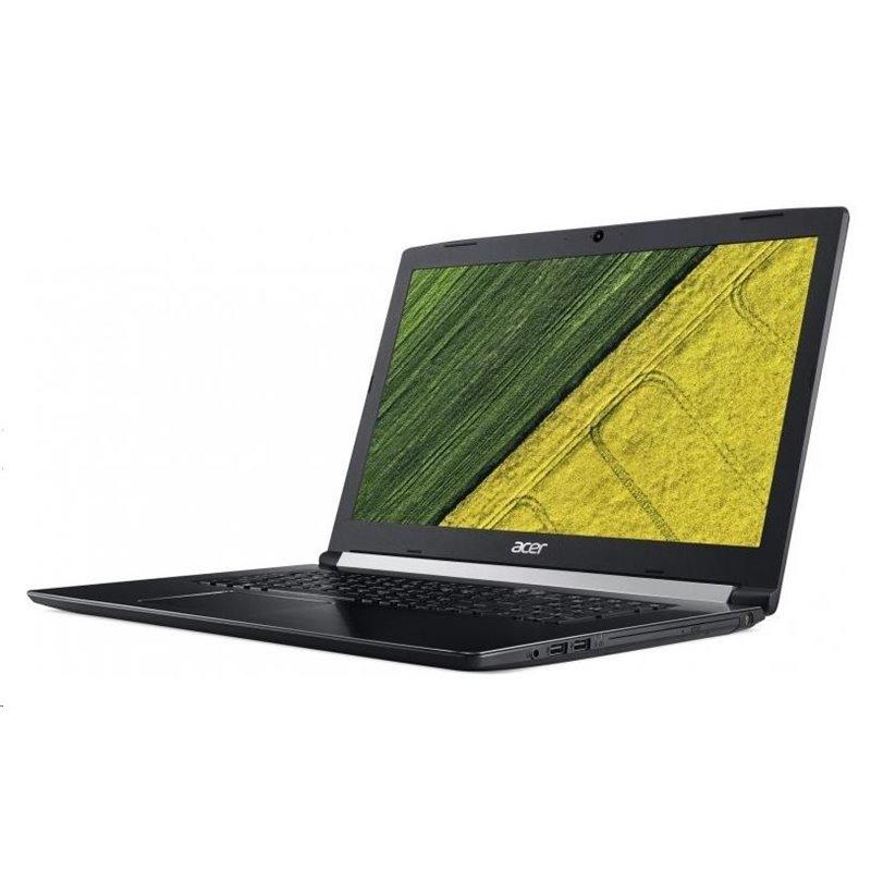 """ACER NTB Aspire 5 Pro (A517-51P-30Y1) - i3-8130U,17.3"""" FHD IPS,4GB,256SSD,DVD,Intel HD,čt.pk,W10P,black,2r on-site"""