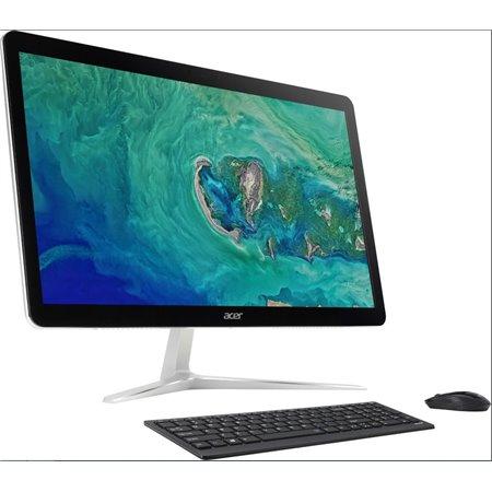 """ACER PC U27-885 - i7-8550U@1.8GHz,27"""" FHD touch,8GB,2THDD72,Intel Optane,Intel HD,noDVD,čt.pk,Thunderbolt,kl+mys,W10H"""