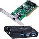 Sieťové karty a adaptéry